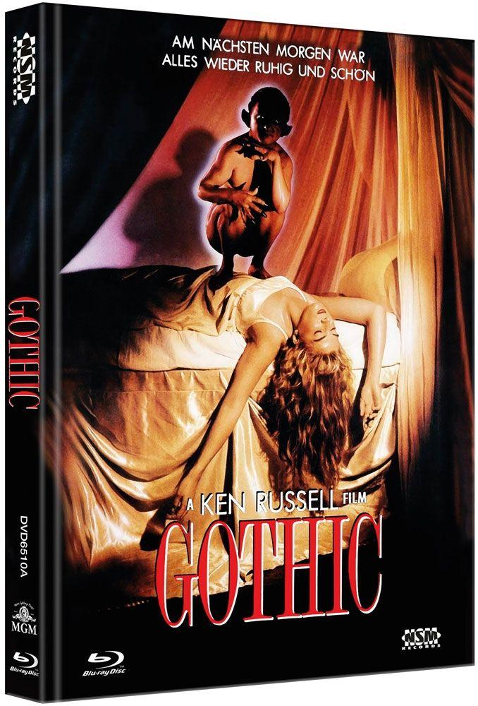 Gothic (Lim. Uncut Mediabook - Cover A) (DVD + BLURAY)