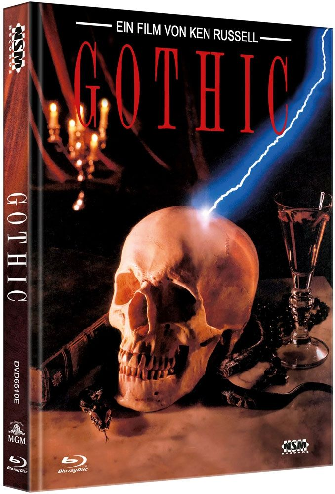 Gothic (Lim. Uncut Mediabook - Cover E) (DVD + BLURAY)