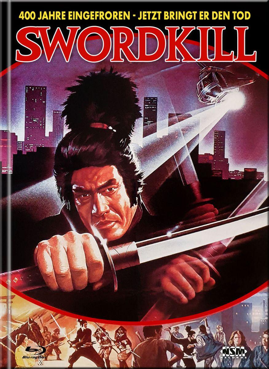 Swordkill (Lim. Uncut Mediabook - Cover A) (DVD + BLURAY)