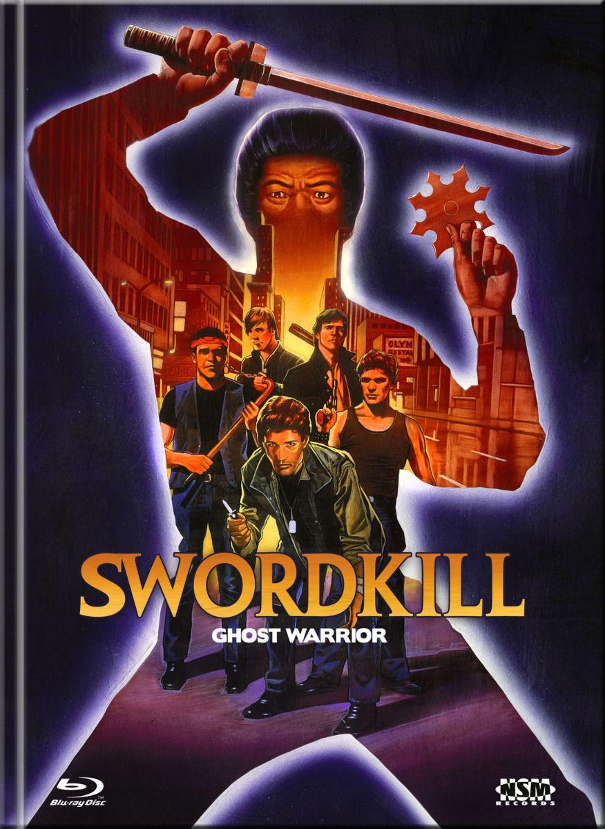 Swordkill (Lim. Uncut Mediabook - Cover B) (DVD + BLURAY)