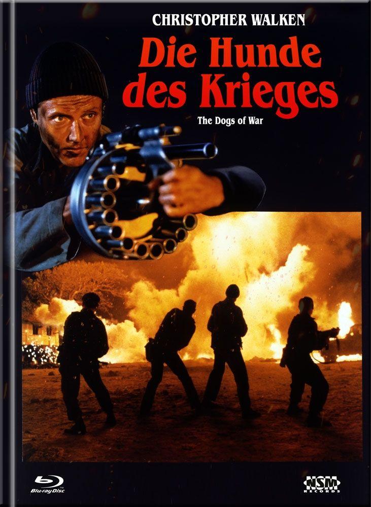 Hunde des Krieges, Die (Lim. Uncut Mediabook - Cover A) (DVD + BLURAY)