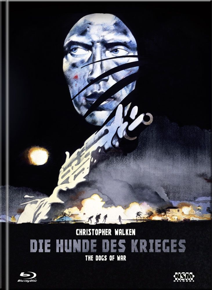 Hunde des Krieges, Die (Lim. Uncut Mediabook - Cover B) (DVD + BLURAY)