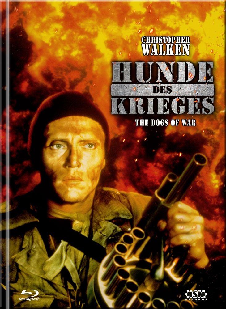 Hunde des Krieges, Die (Lim. Uncut Mediabook - Cover C) (DVD + BLURAY)