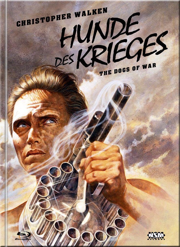 Hunde des Krieges, Die (Lim. Uncut Mediabook - Cover E) (DVD + BLURAY)
