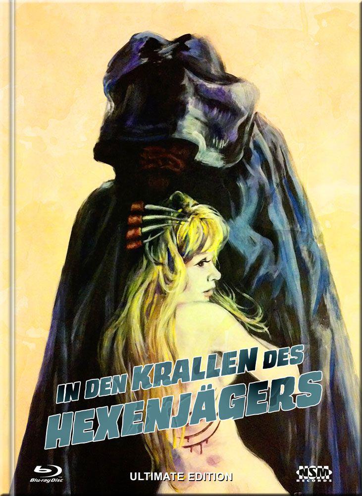 In den Krallen des Hexenjägers (Lim. Ultimate Edition Mediabook - Cover E) (UHD BLURAY + BLURAY + DVD)