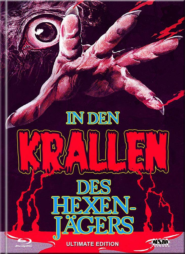 In den Krallen des Hexenjägers (Lim. Ultimate Edition Mediabook - Cover F) (UHD BLURAY + BLURAY + DVD)