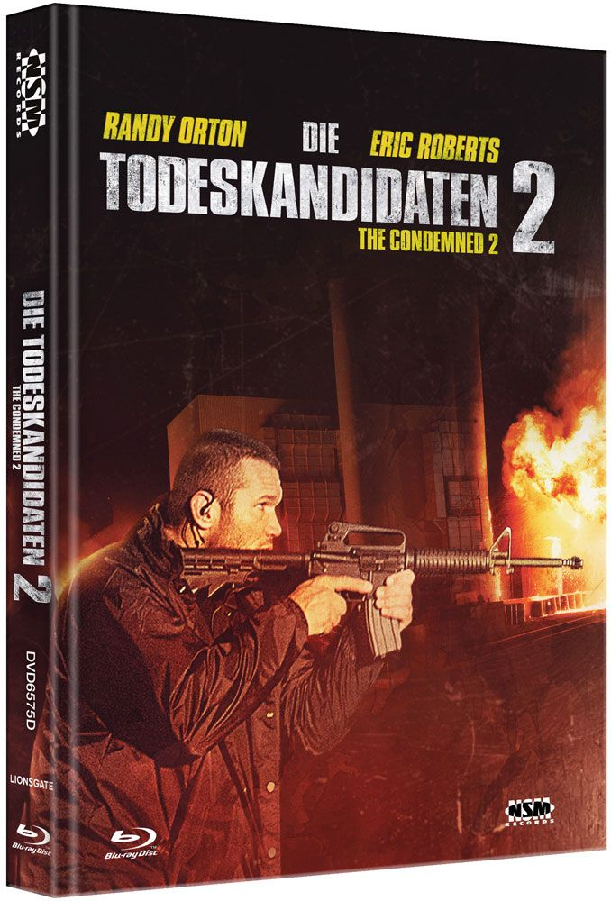 Todeskandidaten 2, Die (Lim. Uncut Mediabook - Cover D) (DVD + BLURAY)