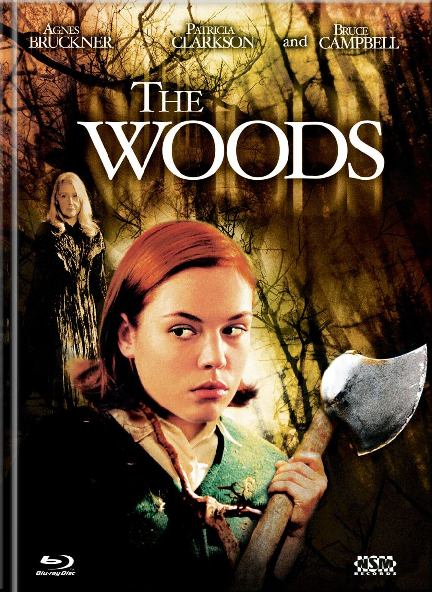 Woods, The (2006) (Lim. Uncut Mediabook - Cover A) (DVD + BLURAY)