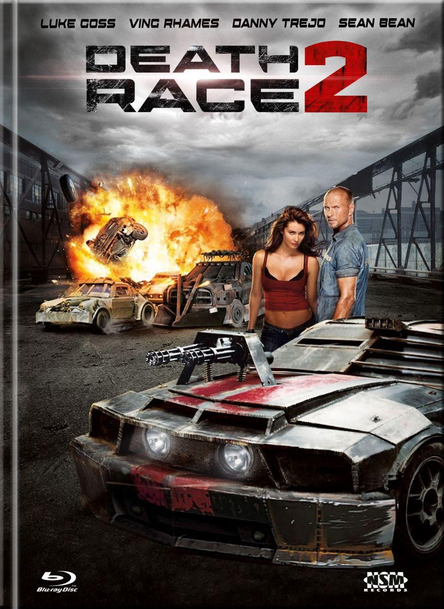 Death Race 2 (Lim. Uncut Mediabook - Cover A) (DVD + BLURAY)