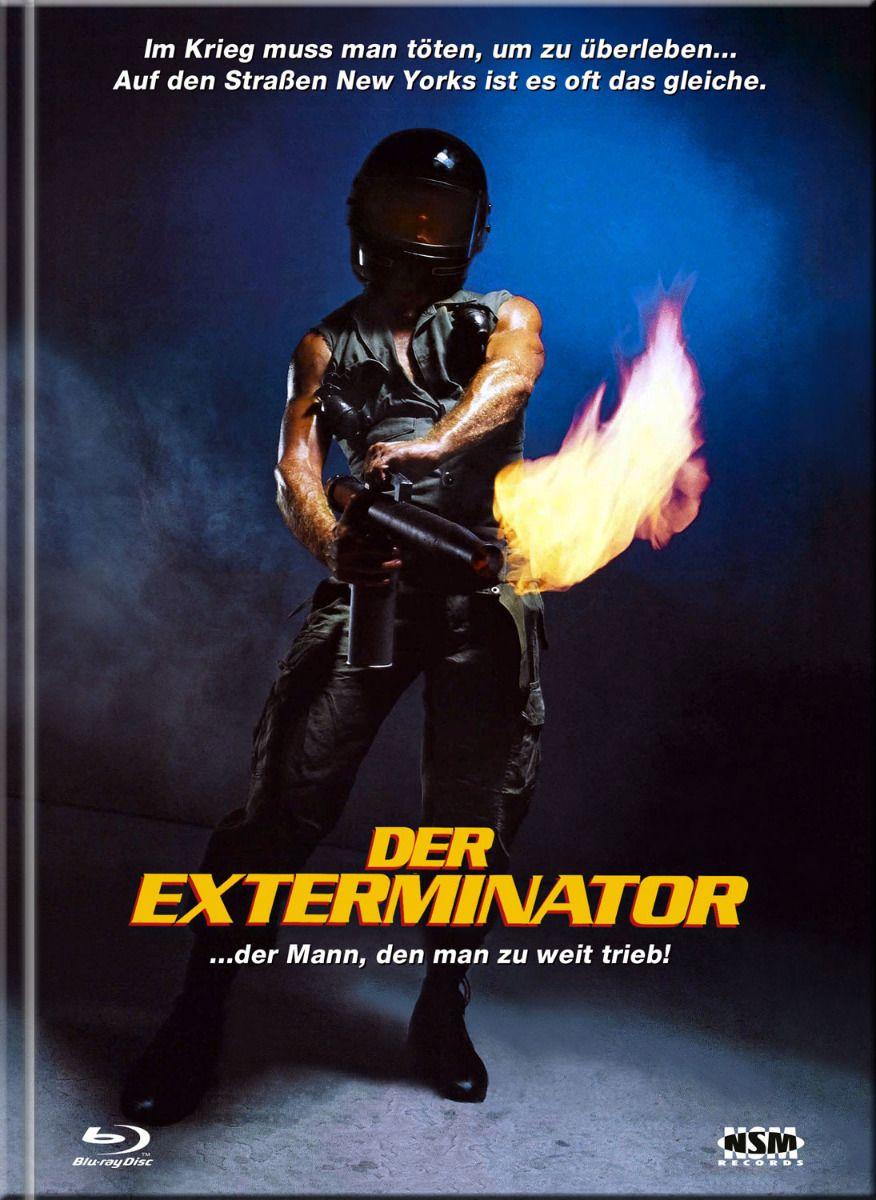 Exterminator, Der (Lim. Uncut Remastered Mediabook - Cover A) (DVD + BLURAY)