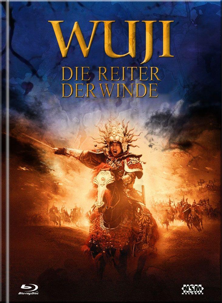 Wu Ji - Die Reiter der Winde (Lim. Uncut Mediabook - Cover A) (3 Discs) (DVD + BLURAY)