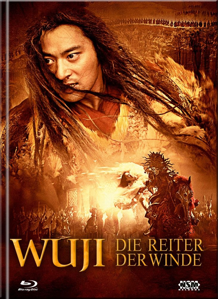 Wu Ji - Die Reiter der Winde (Lim. Uncut Mediabook - Cover D) (3 Discs) (DVD + BLURAY)