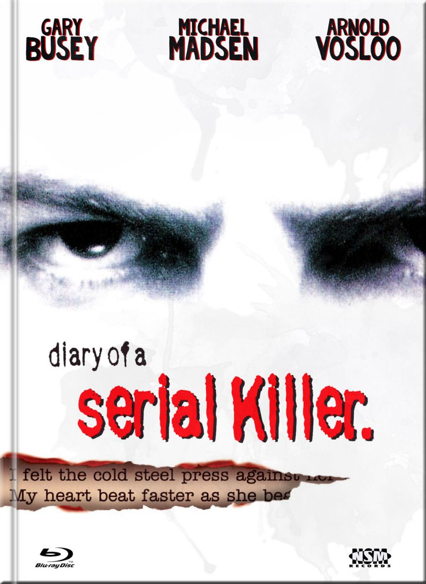 Diary of a Serial Killer (Lim. Uncut Mediabook - Cover A) (DVD + BLURAY)