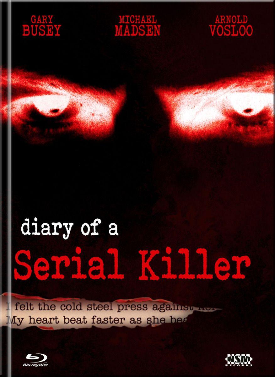 Diary of a Serial Killer (Lim. Uncut Mediabook - Cover B) (DVD + BLURAY)