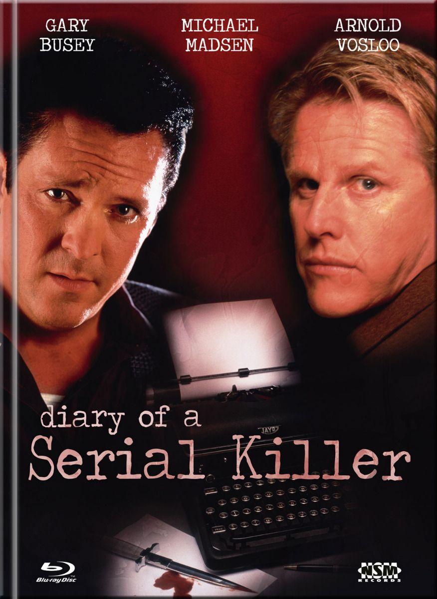 Diary of a Serial Killer (Lim. Uncut Mediabook - Cover C) (DVD + BLURAY)