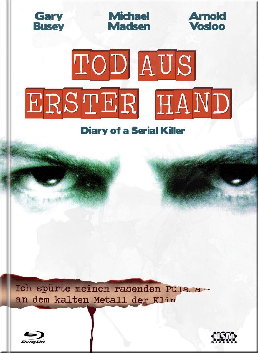 Diary of a Serial Killer (Lim. Uncut Mediabook - Cover D) (DVD + BLURAY)
