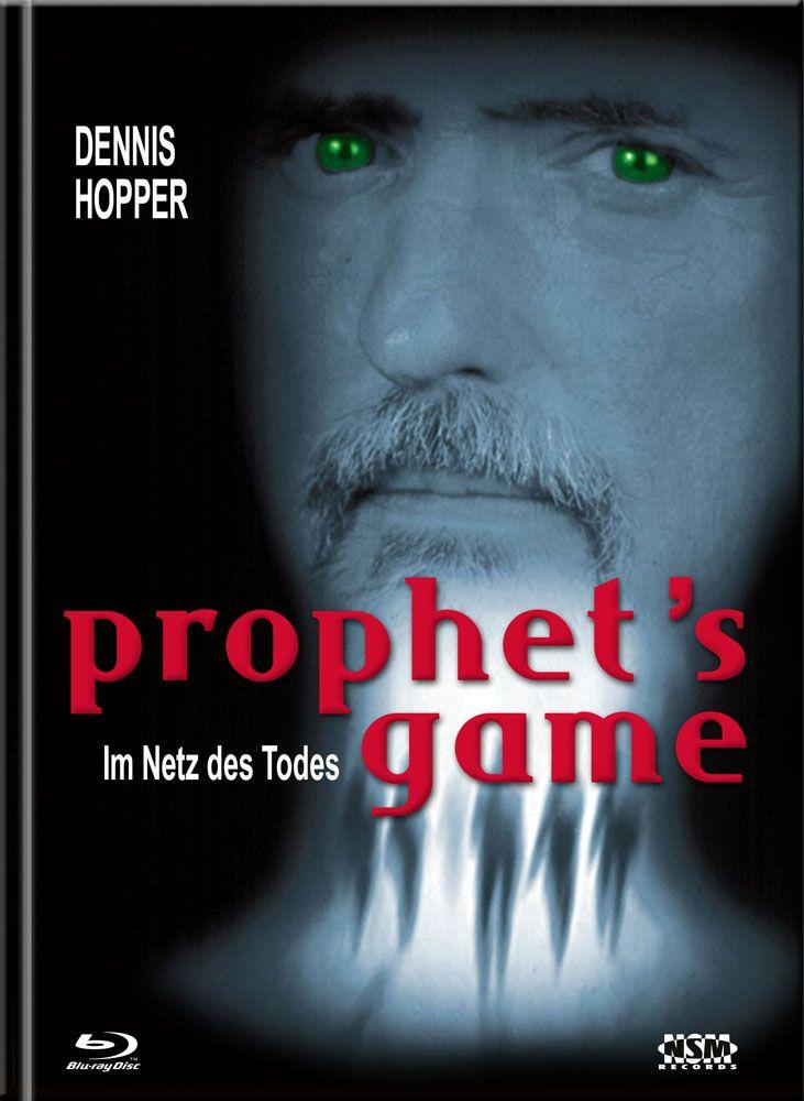 Prophet's Game - Im Netz des Todes (Lim. Uncut Mediabook - Cover A) (UHD BLURAY + BLURAY + DVD)
