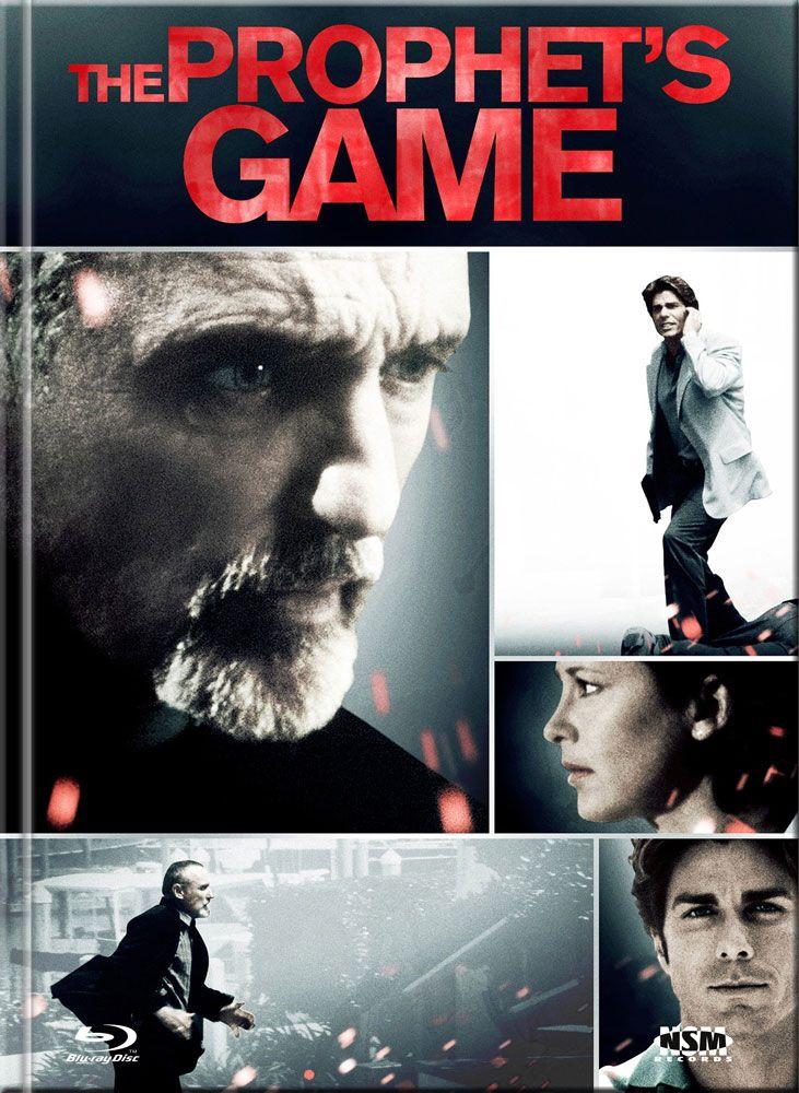 Prophet's Game - Im Netz des Todes (Lim. Uncut Mediabook - Cover B) (UHD BLURAY + BLURAY + DVD)