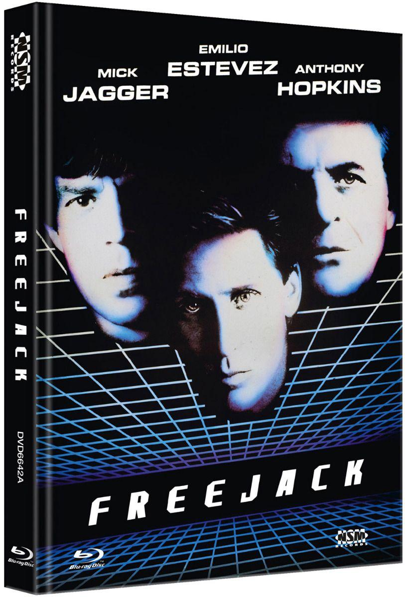 Freejack (Lim. Uncut Mediabook - Cover A) (DVD + BLURAY)