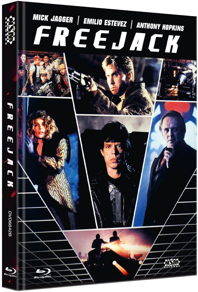 Freejack (Lim. Uncut Mediabook - Cover B) (DVD + BLURAY)