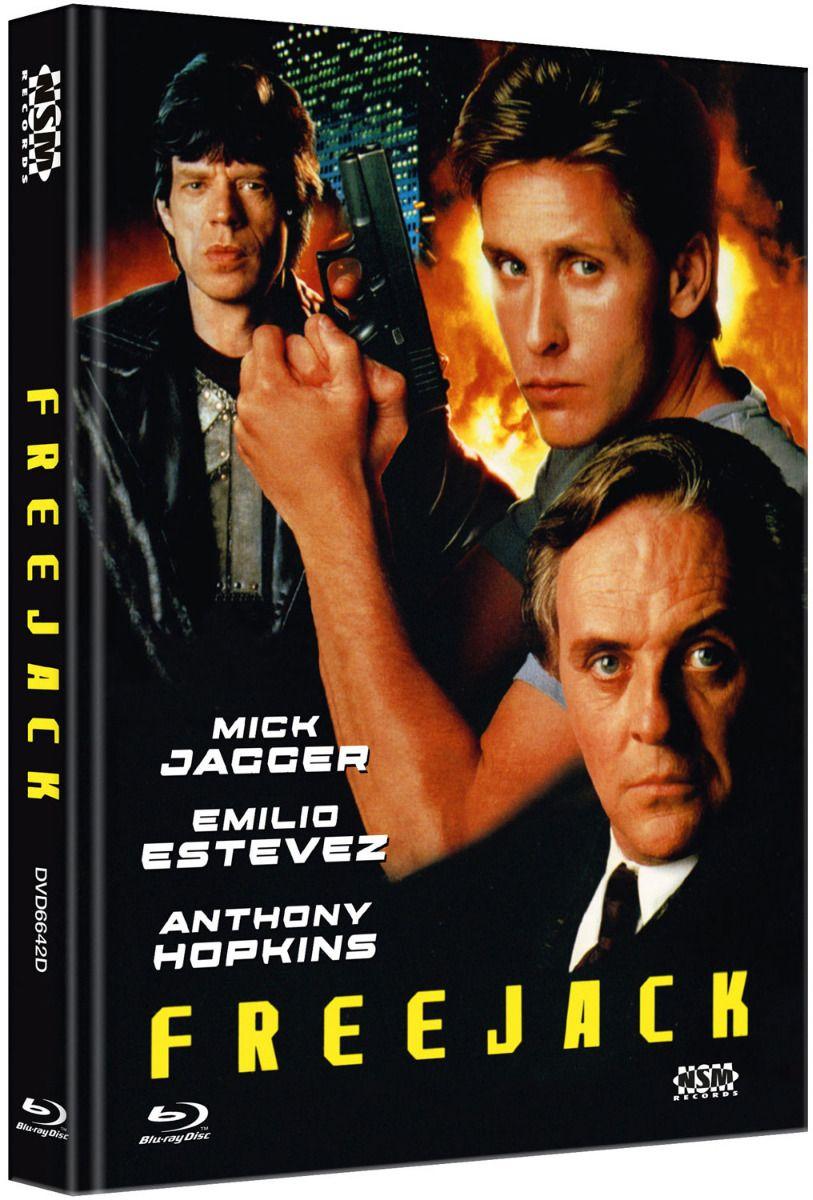 Freejack (Lim. Uncut Mediabook - Cover D) (DVD + BLURAY)