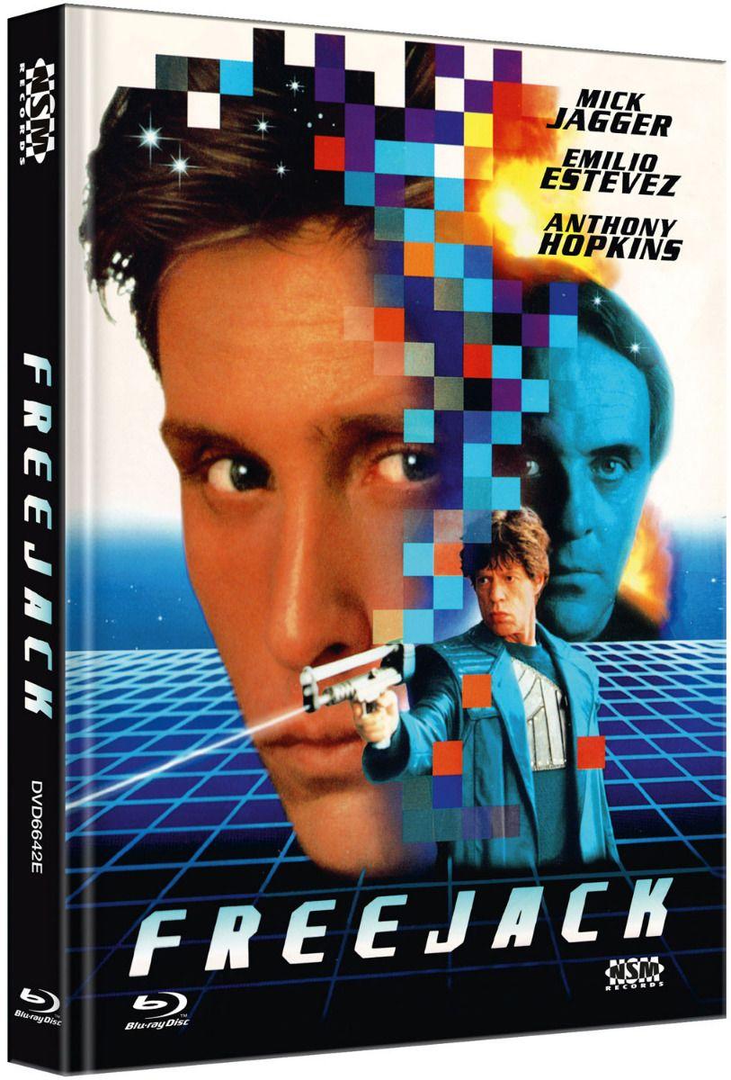 Freejack (Lim. Uncut Mediabook - Cover E) (DVD + BLURAY)
