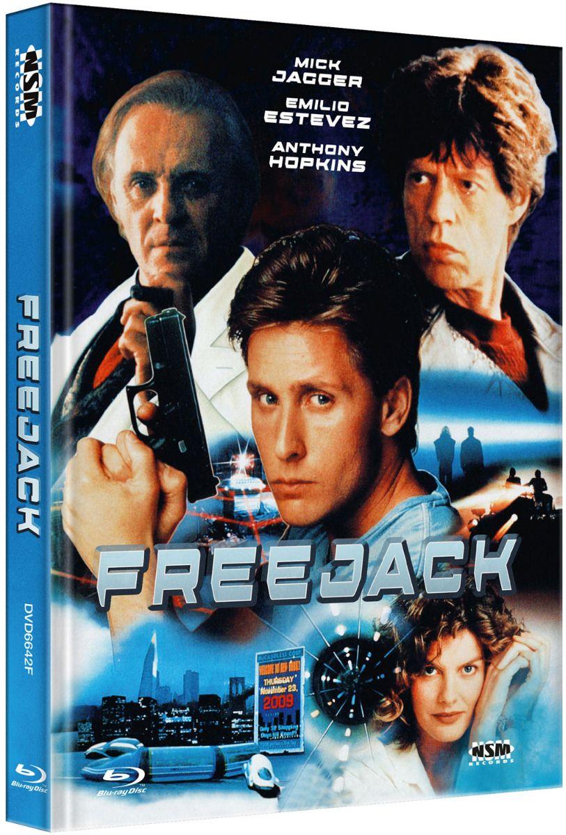 Freejack (Lim. Uncut Mediabook - Cover F) (DVD + BLURAY)