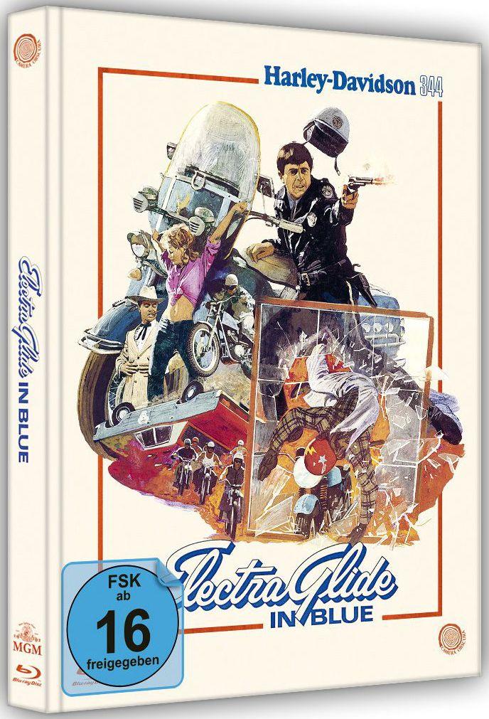 Electra Glide in Blue - Harley Davidson 344 (Lim. Uncut Mediabook) (BLURAY)