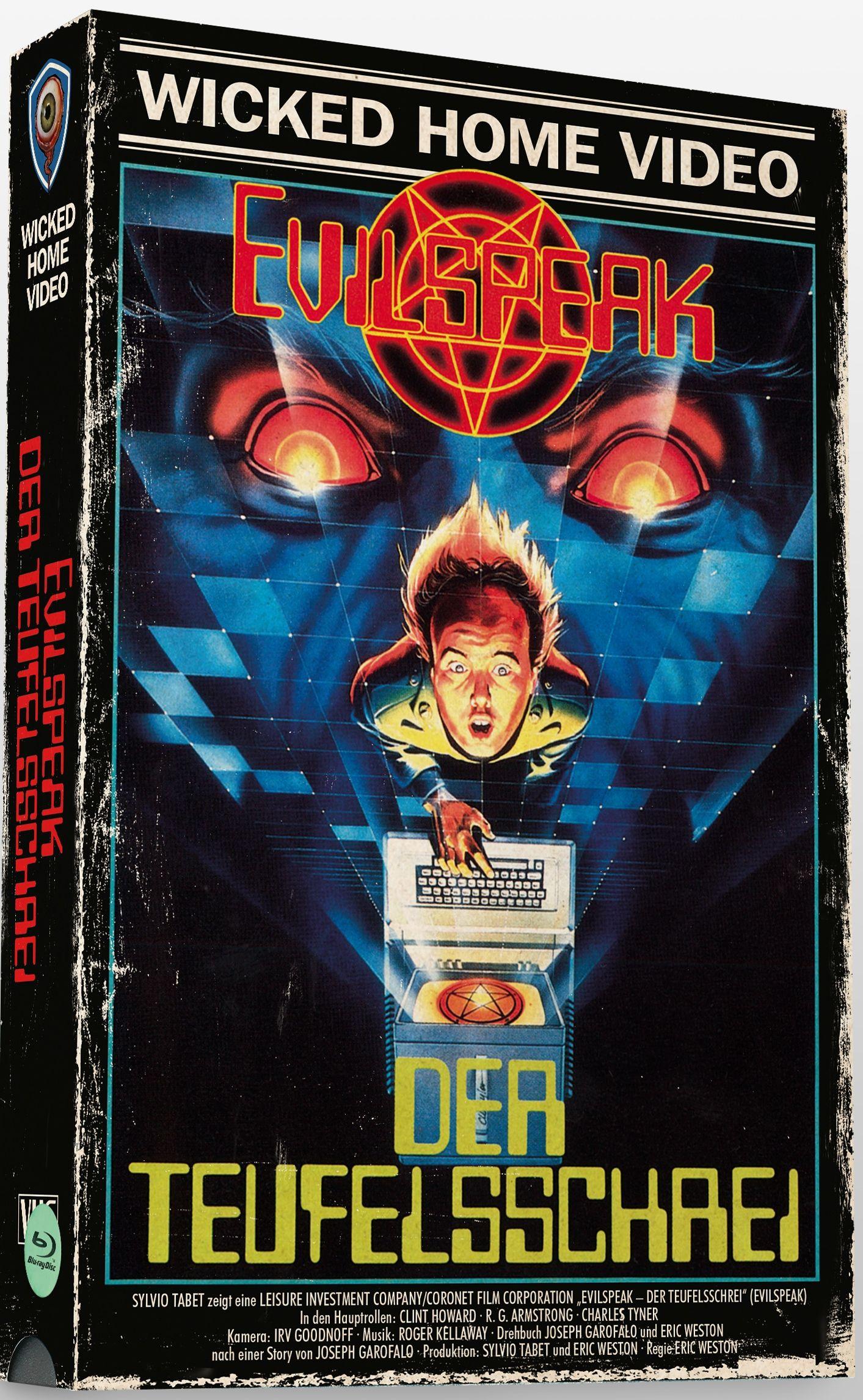 Evilspeak - Der Teufelsschrei (Lim. VHS-Design Edition) (2 Discs) (BLURAY)