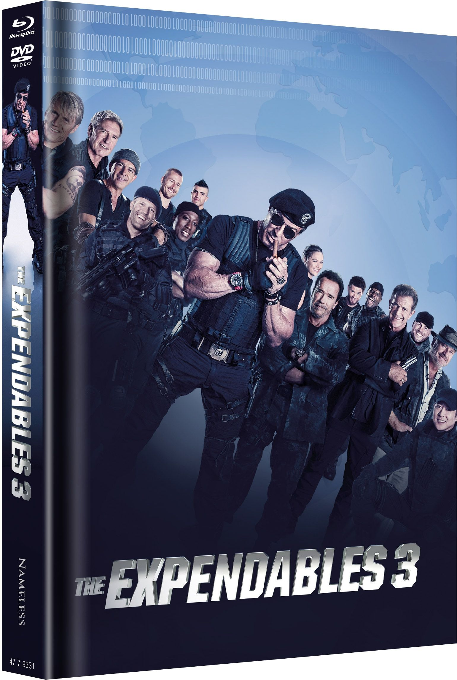 Expendables 3, The - A Mans Job (Lim. Uncut Mediabook - Cover A) (DVD + BLURAY)