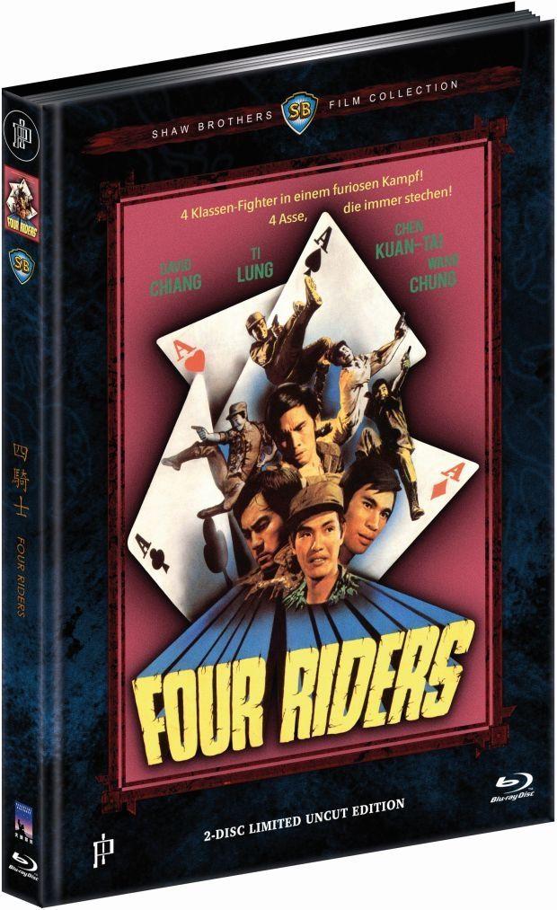 Four Riders (Lim. Uncut Mediabook - Cover B) (DVD + BLURAY)