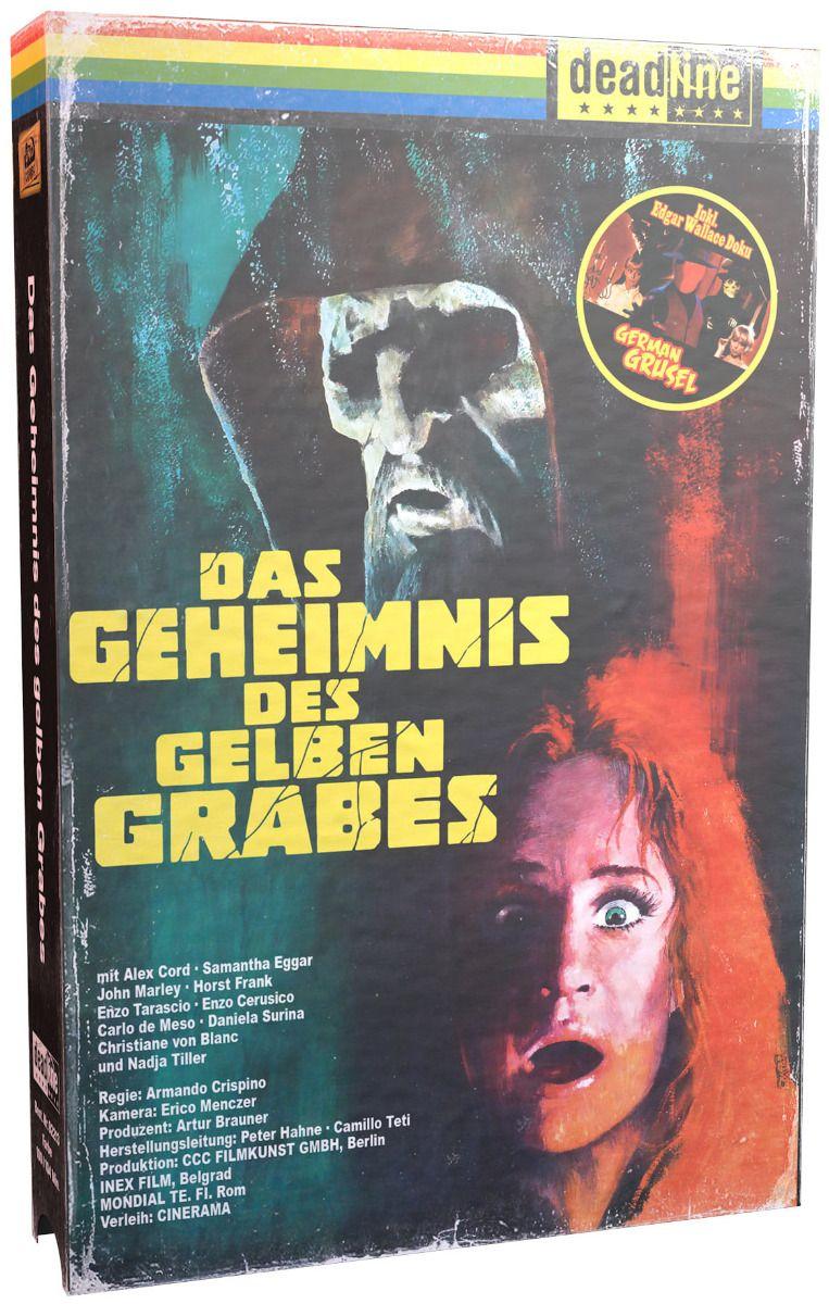 Geheimnis des gelben Grabes, Das (Lim. VHS-Design Edition) (2 Discs) (BLURAY)