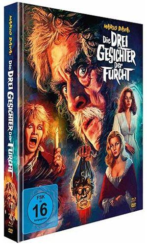Drei Gesichter der Furcht, Die (Lim. Uncut Mediabook) (2 DVD + BLURAY)