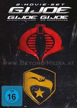 G.I. Joe 1 + 2 Movieset (2 Discs)