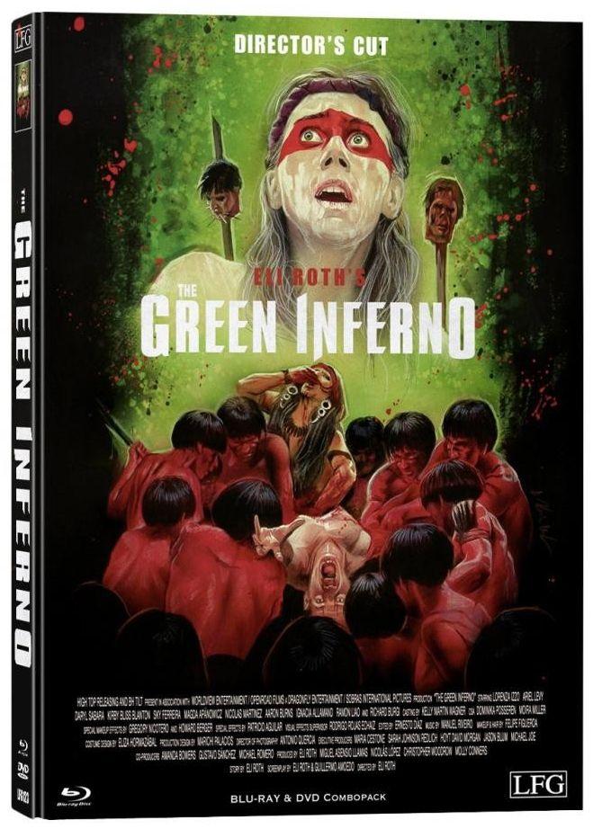Green Inferno, The (Lim. Director's Cut Mediabook - Cover B) (DVD + BLURAY)