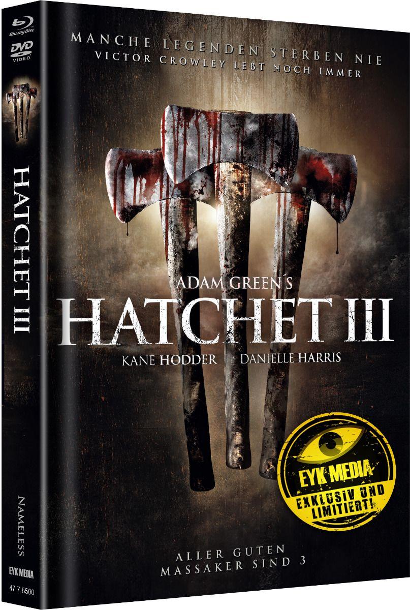 Hatchet 3 (Lim. Uncut Mediabook - Cover B) (DVD + BLURAY)