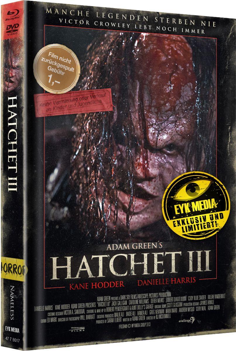 Hatchet 3 (Lim. Uncut Mediabook - Cover C) (DVD + BLURAY)