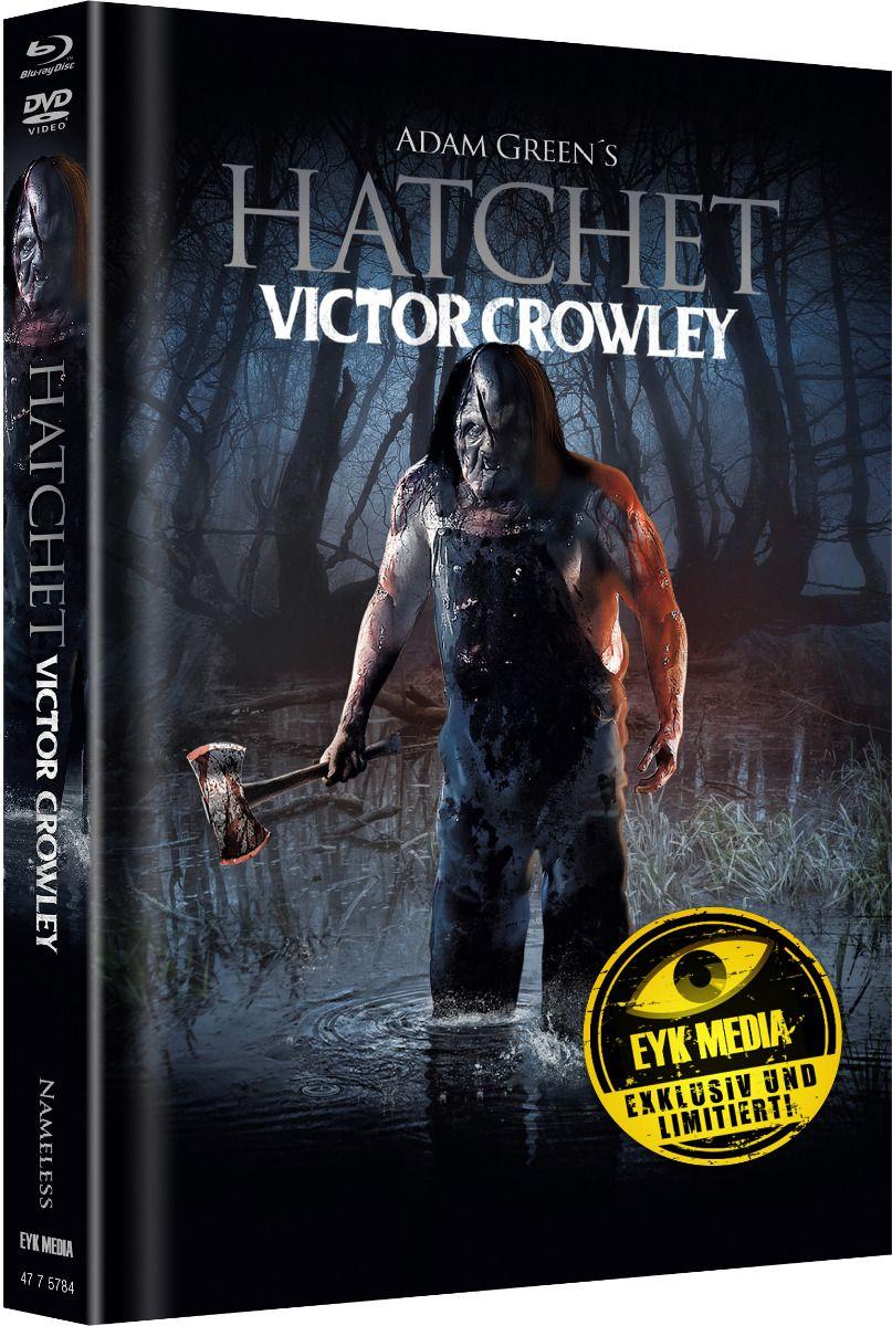 Hatchet - Victor Crowley (Lim. Uncut Mediabook - Cover B) (DVD + BLURAY)