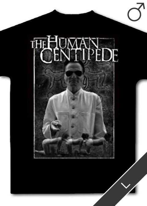 Human Centipede, The - T-Shirt (schwarz, Größe: L)
