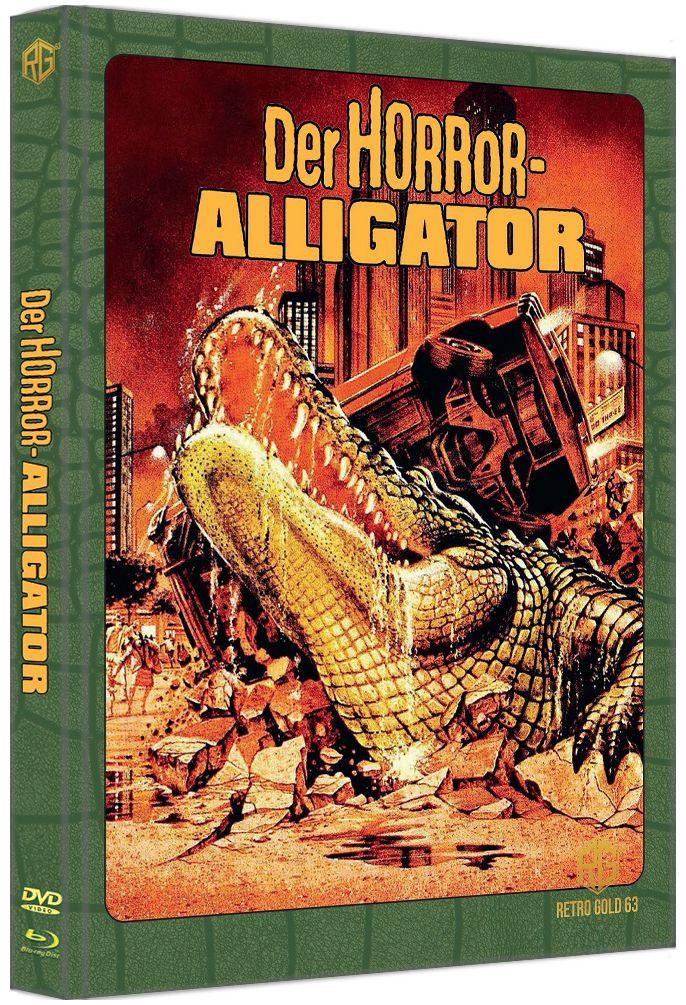 Horror-Alligator, Der (Lim. Uncut wattiertes Mediabook) (DVD + BLURAY)
