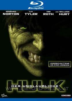 Unglaubliche Hulk, Der (2008) (Uncut) (BLURAY)