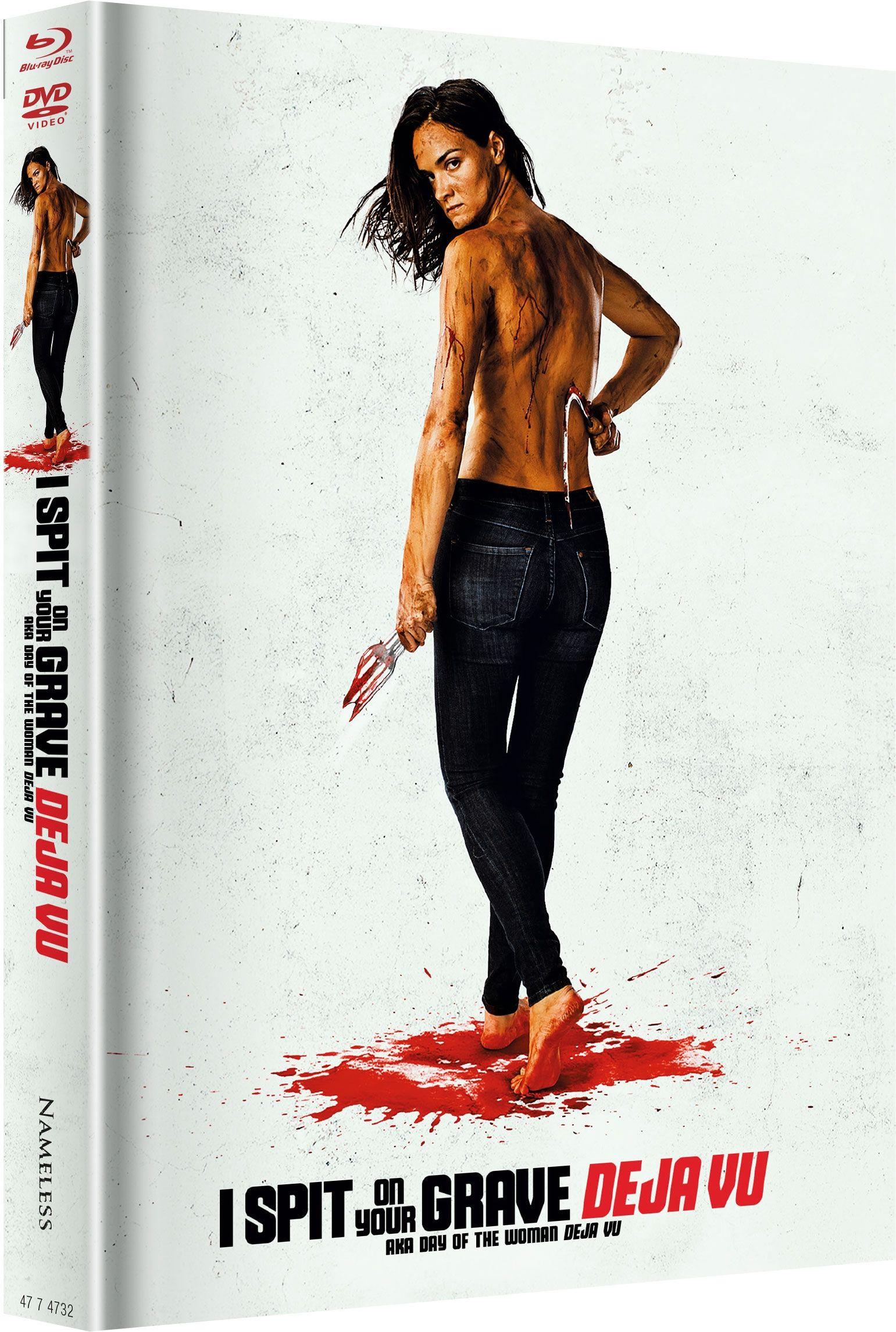 I Spit on Your Grave - Deja Vu (Lim. Uncut wattiertes Mediabook - Cover E) (DVD + BLURAY)