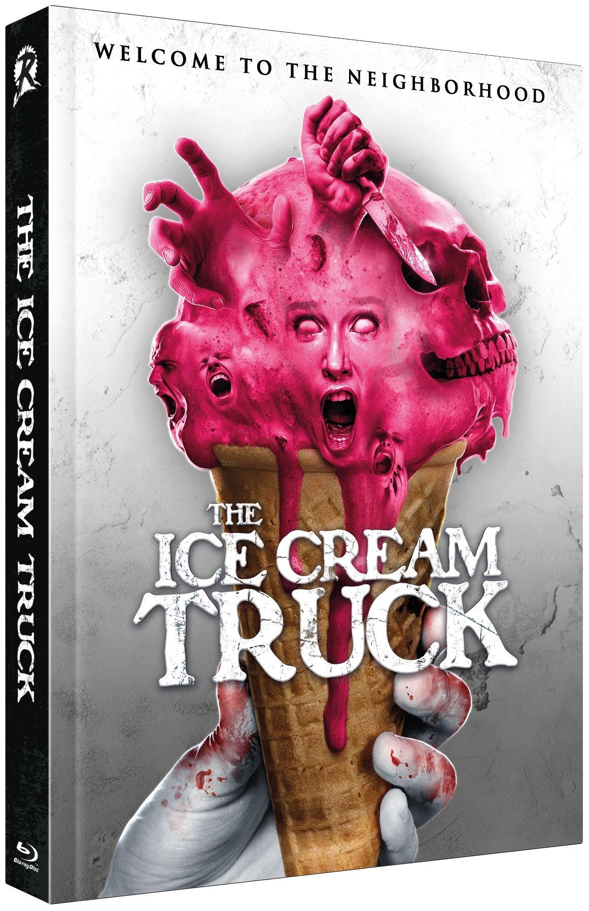 Ice Cream Truck, The (Lim. Uncut Mediabook - Cover A) (DVD + BLURAY)