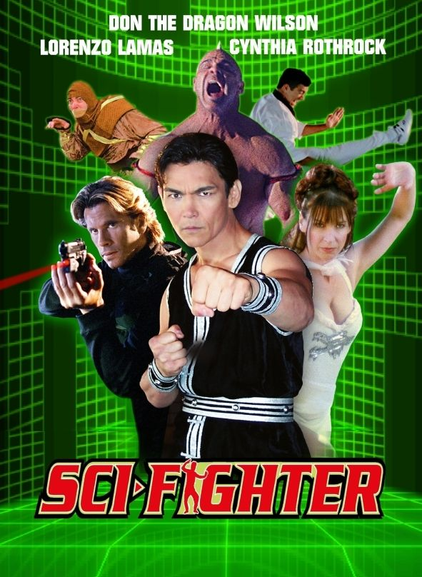 Sci-Fighter (Lim. Uncut Mediabook - Cover C) (DVD + BLURAY)