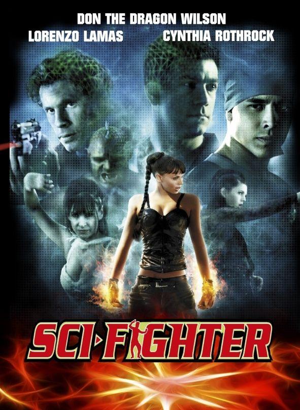 Sci-Fighter (Lim. Uncut Mediabook - Cover D) (DVD + BLURAY)