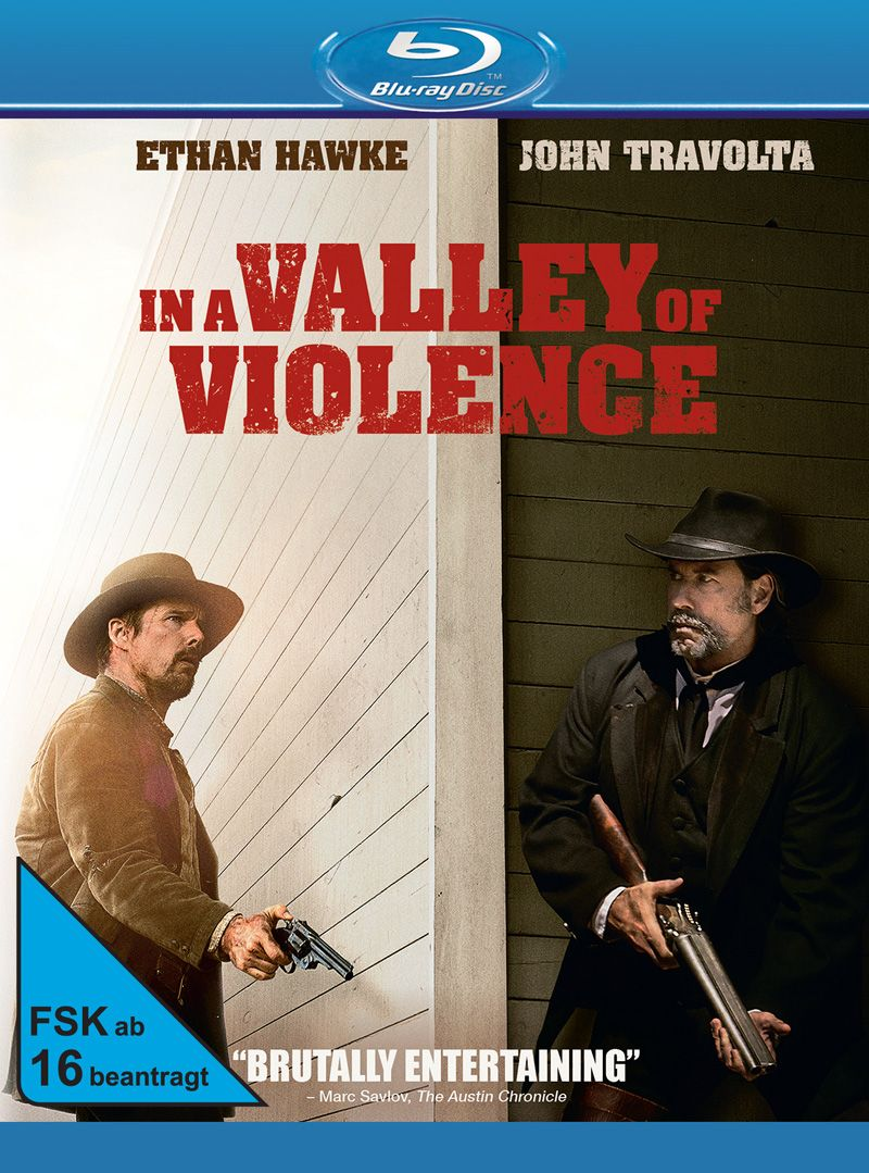 In a Valley of Violence (BLURAY)