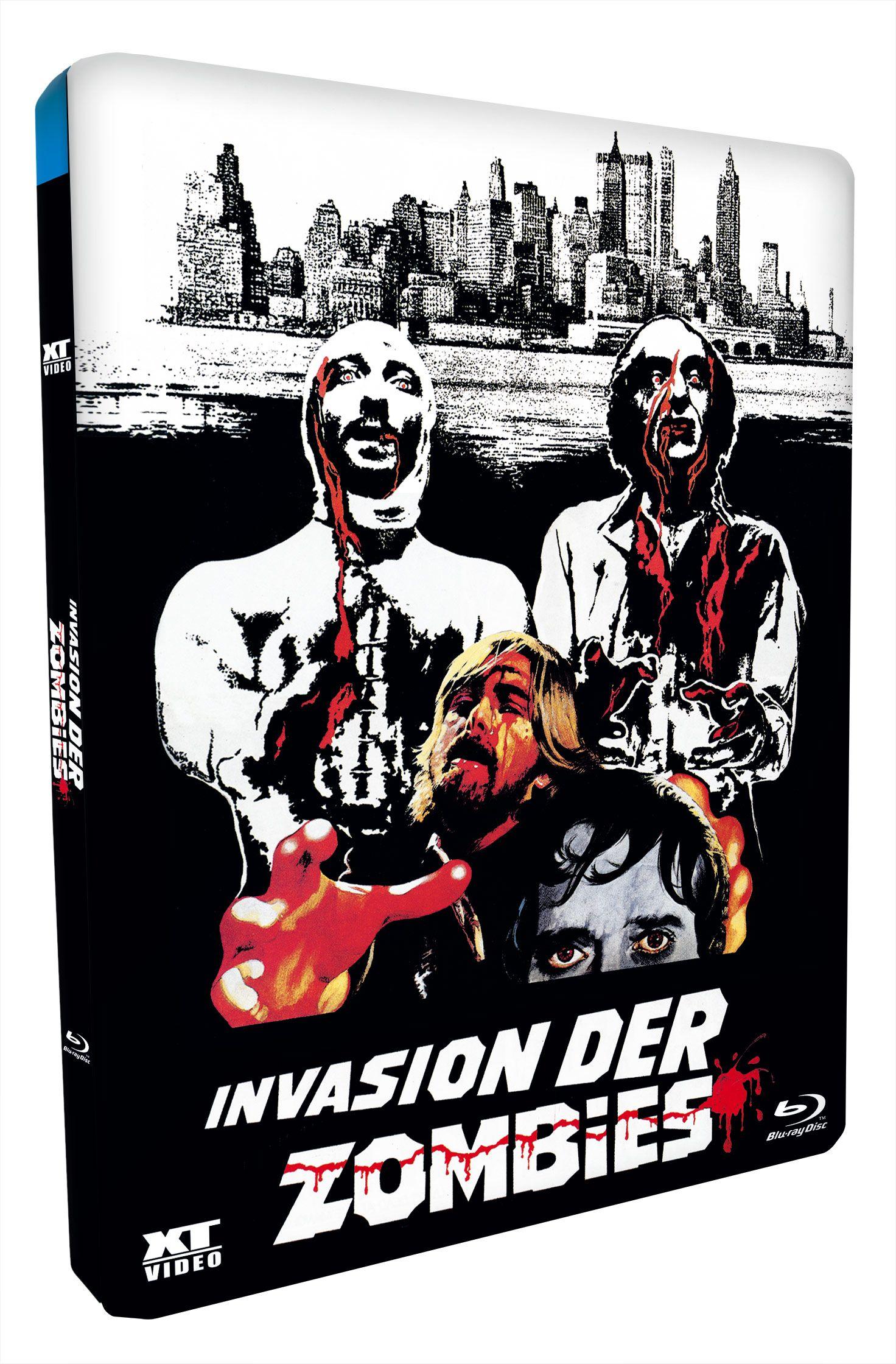 Invasion der Zombies (Lim. Uncut Metalpak) (BLURAY)