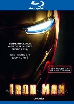 Iron Man (Uncut) (BLURAY)