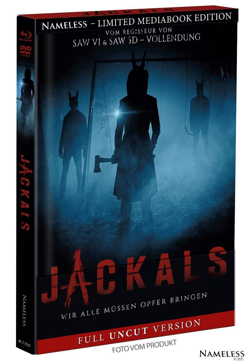 Jackals (Lim. Uncut Mediabook - Cover A) (DVD + BLURAY)
