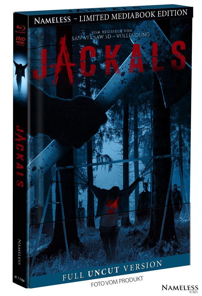Jackals (Lim. Uncut Mediabook - Cover B) (DVD + BLURAY)